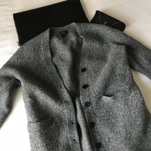 Wool J. Crew Cardigan